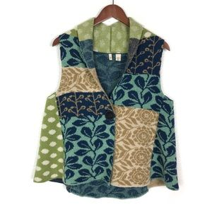 Anthropologie | Moth Patchwork Wool Vest
